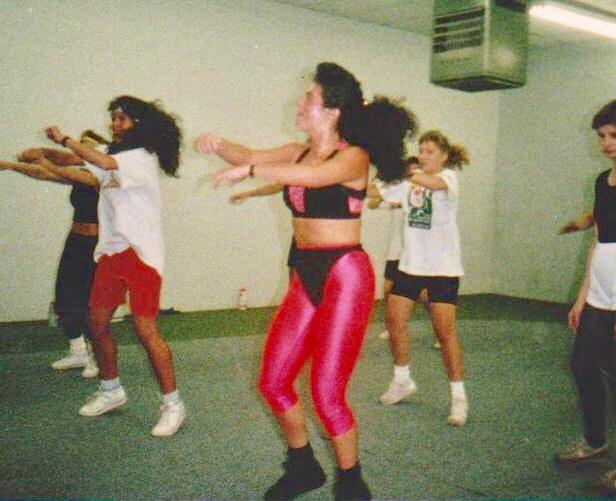 fran aerobics 80's