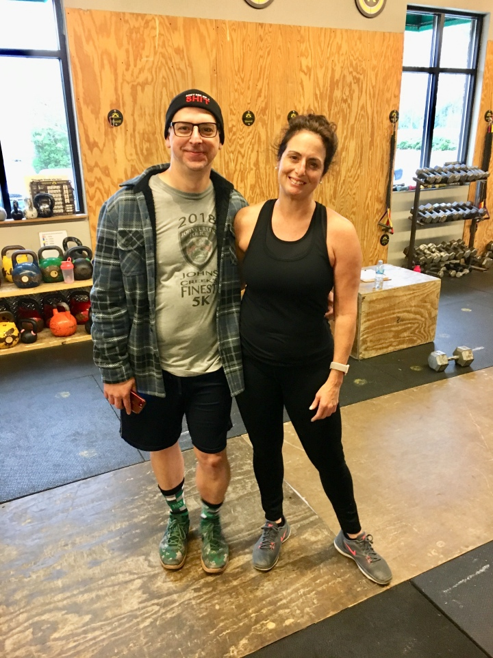 Congrats to us for attempting 19.3! Love you Karl!